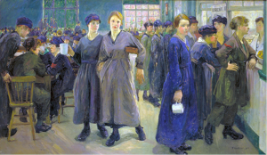 """Women's Canteen at Phoenix Works, Bradford"""